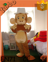 hot sale cheap Customize adult plush monkey king costume, moascot costume for product promotion