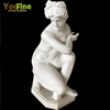 Elegant Garden Marble Naked Woman Statue for Sale