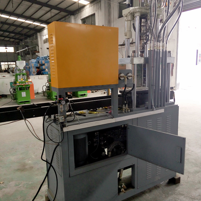 Latest 35Tons Plastic Zipper Making Vertical Injection Forming Machine In China