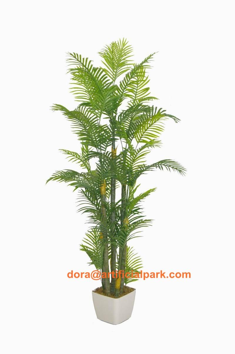 Haute qualit 260 cm bambou kwai palmier bonsa for Plante haute en pot