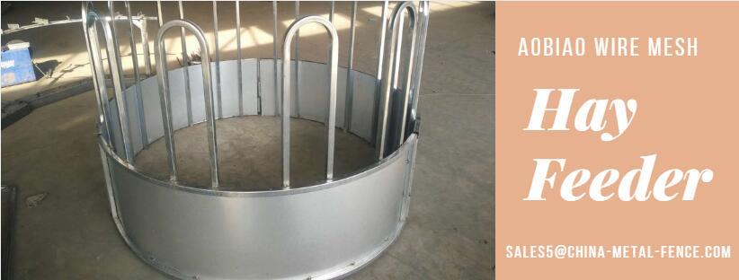 China Factory Galvanized Metal Cattle Round Hay Feeder - Buy Round ...