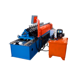 Steel profile drywall track & stud double line c u light steel framing roll forming machine