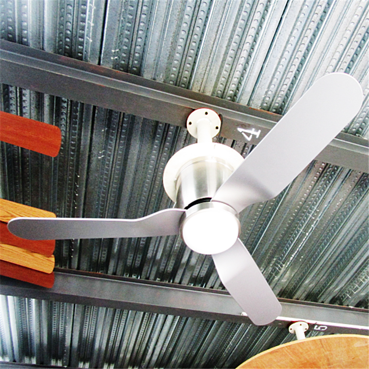 China high quality led ceiling fan lumen fans hidden blade light