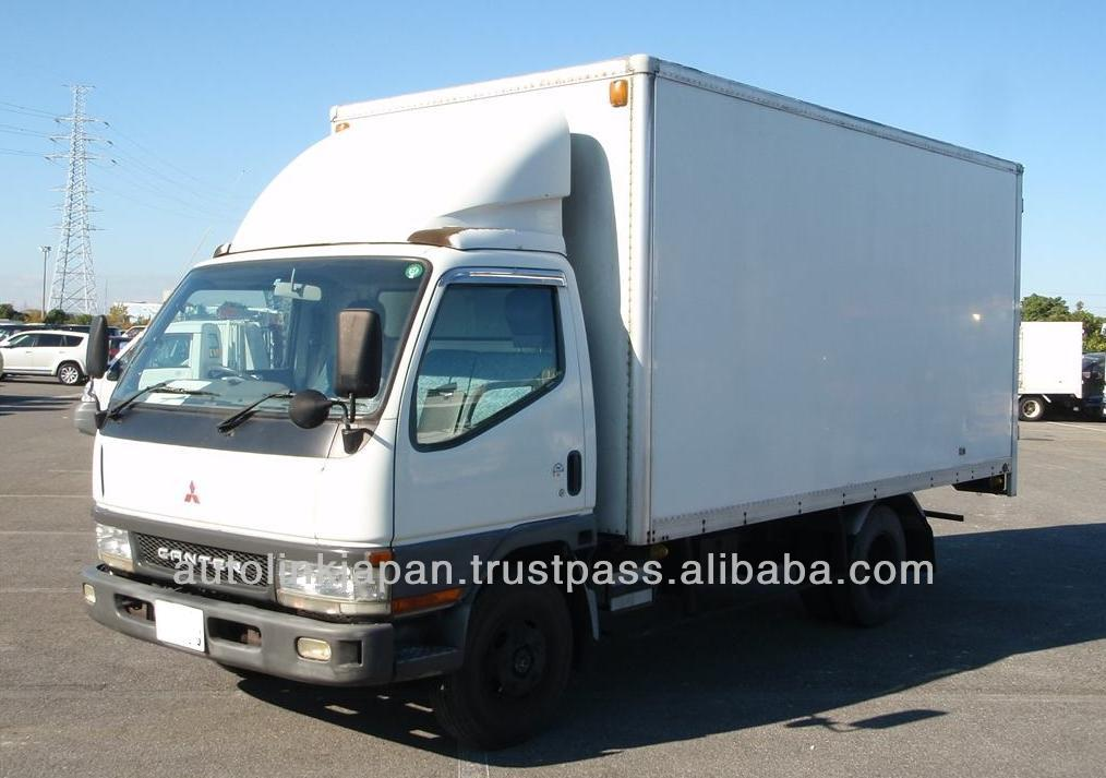 Mitsubishi Canter Box Truck / 2 Ton / 4m51 Engine - Buy Used ...