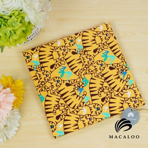 Macaloo design own 250gsm digital printed 95 cotton 5 spandex fabric