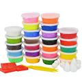 24 Colors 15g Modeling Clay Playdough Children s Educational Toys Handgum Intelligent Plasticine Suit DIY Magic