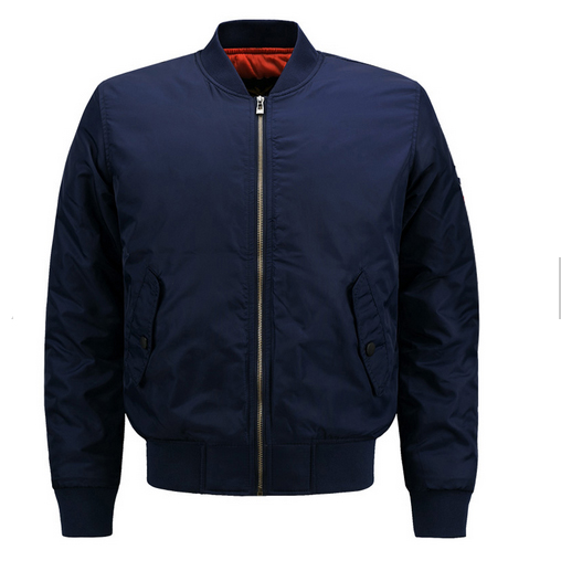 Latest burst custom high quality mens nylon waterproof ma 1 flight bomber jacket
