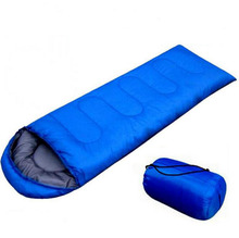 Sleeping Bag with Carrying Bag Warm Weather Sleeping Bag Compactable Waterproof Windproof Envelope Style for adults