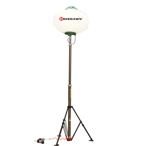 Pneumatic lifting balloon lighting tower with 1000w MH lamp