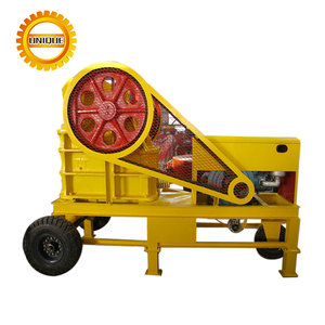 High Quality Portable Small Diesel Engine Jaw Stone Crusher
