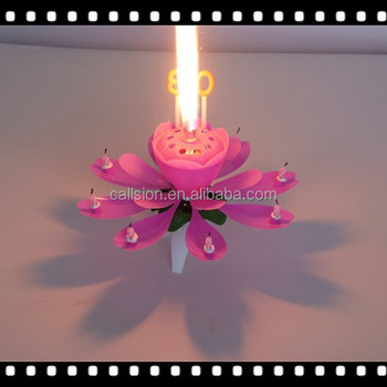 Trade Guarantee Art Wax Adult Birthday Rotating Cake Fireworks With Colorful Color And Moving Effect