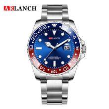 Мужские роскошные часы, брендовые, Rolexable, водонепроницаемые, модные, простые, аналоговые, кварцевые наручные часы, браслет из нержавеющей ст...(Китай)