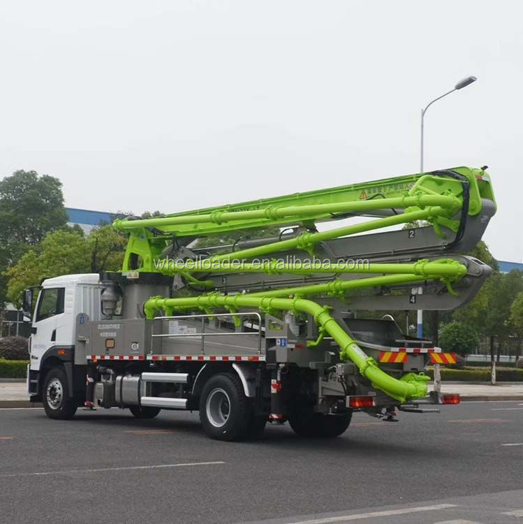 Zoomlion 56 meters 6 Arms 56X-6RZ Truck Mounted Concrete Pump Truck Price