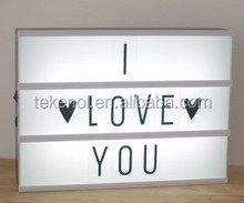 SWEET LOVE TO GIRL OR BOY For Free Combination Numbers and letters LED LIGHT BOX