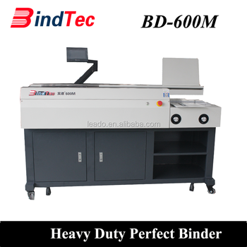 BD-600M A3 A4 Heavy Duty Perfect Book Binding Machine