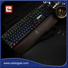 Black Aluminium Alloy Keyboard Special For Computer Gamers