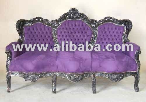 canap baroque argent meubles neo rococo moderne canap salon id de produit 134332868 french. Black Bedroom Furniture Sets. Home Design Ideas