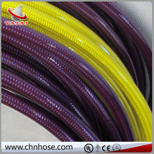 Flexible hose pipe/vacuum cleaner hose stainless steel braided nylon hose