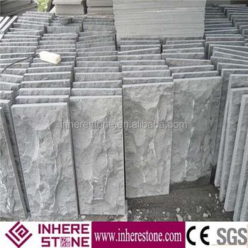 Granito gris exterior decorativa piedra para paredes for Piedra de granito precio
