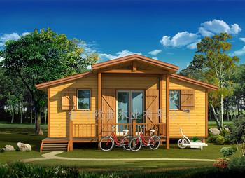 2017 Sederhana Desain Baru Zhejiang Villa Prefabrikasi Rumah Kayu