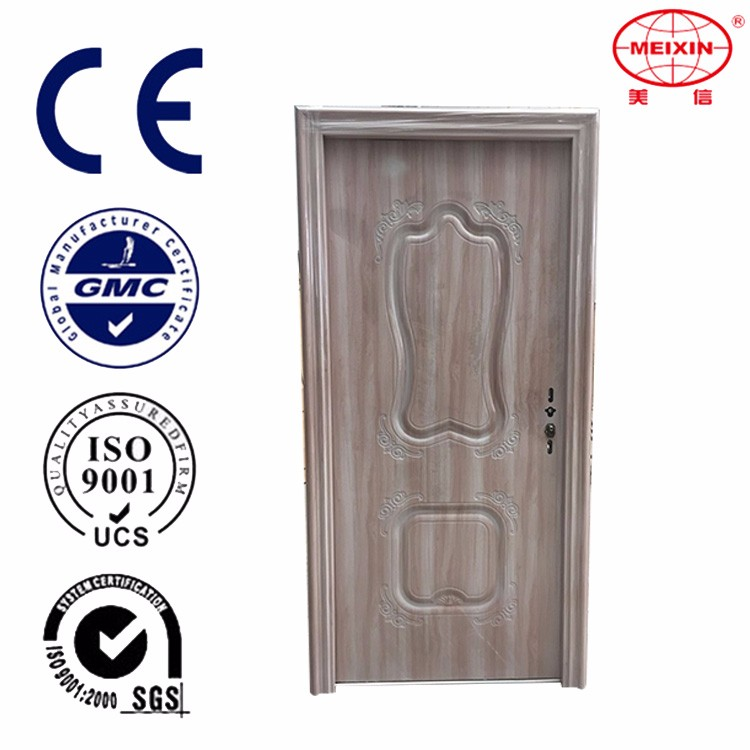 Alibaba new style israel steel door interior modern house buildng material door