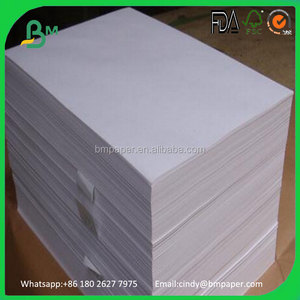 Food Grade 80gsm 120gsm White Virgin Kraft Paper for Paper Cup Making