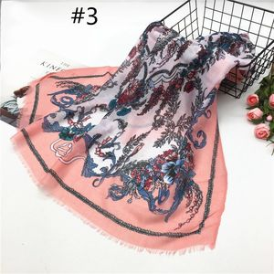 2018 wholesale hotselling beautiful floral pashmina thin fringed hijab cotton viscose fine printed scarf