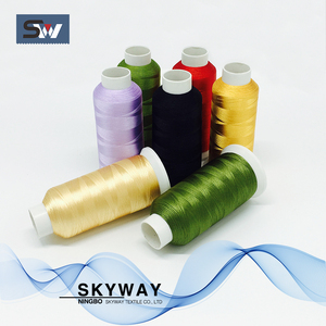 Viscose/rayon 120D filament embroidery thread good quality