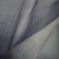Bleached white and dyed 45 width 65/35 polyester cotton garment fabric