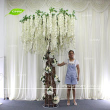GNW FLARR1707002-2 Large artificial wisteria wedding stage backdrop decoration