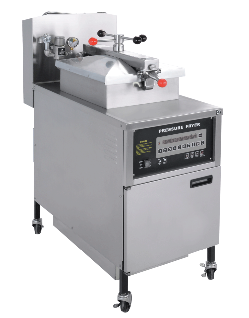 Chinese restaurant kitchen equipment pressure fryer deep for Equipement restaurant usage