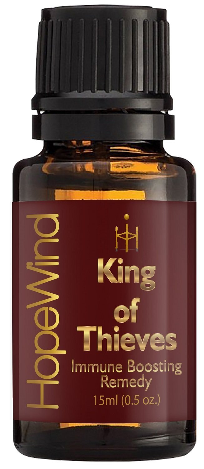King's Remedy, Immune Boosting, Germ Virus Fighter, Optimum Health 100% Pure Therapeutic grade Unique Formula, Full 15ml/0.5oz - by HopeWind