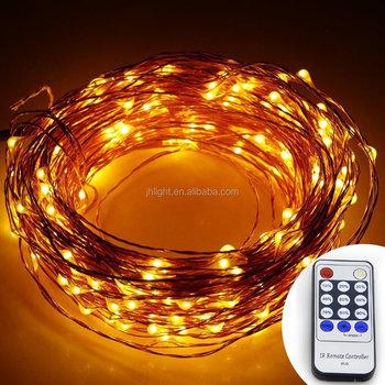 99ft Led String Lights 300 Led Starry Lights On 30m Copper Wire String Lights 12v Dc Power Adapter Remote Control Warm White Buy 99ft 300 Led