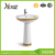 D604A modern bathroom design accessory sanitary hand wash sink