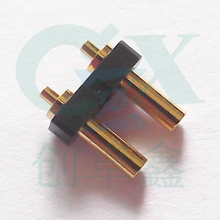 waterproof 100% connector pitch 3.5mm spring loaded gold plating pogo pin for camera