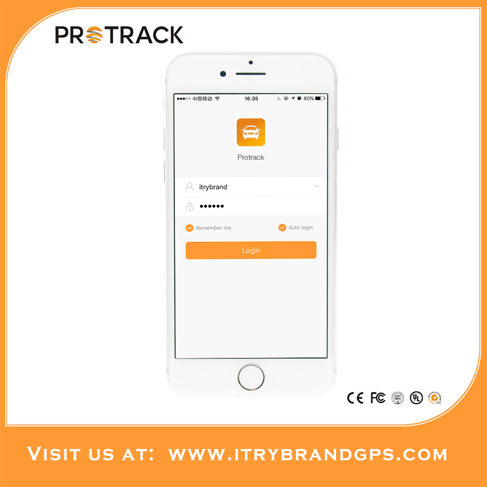 PROTRACK car gps security locator Free web gps server tracking software