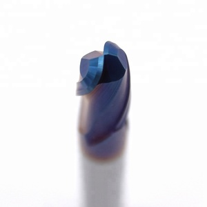Blue NACO Coating Round Nose End Mill Endmill