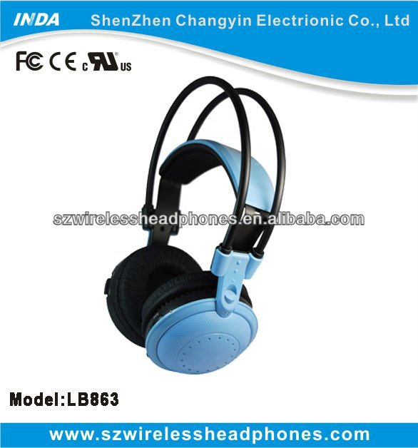 Big earcup comfortable bluetooth headphone for kids, support calling, chat, music cotrol LB863