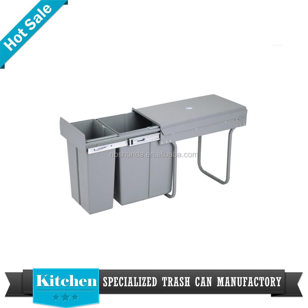 Kitchen Accessories Garbage Bin Design Kitchen Cabinet Plastic ...