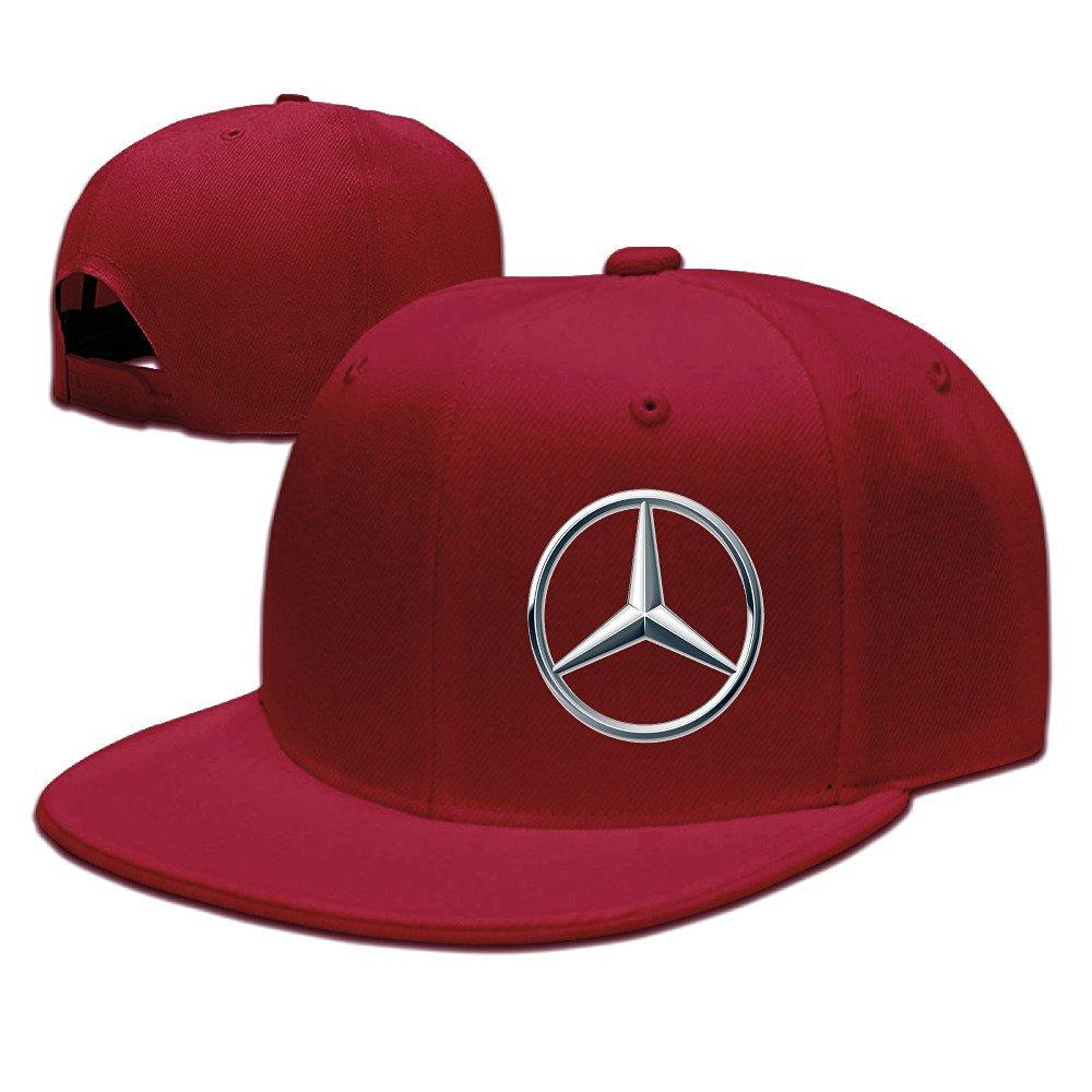 f80b2db661afd MaNeg Mercedes Benz Logo Unisex Fashion Cool Adjustable Snapback Baseball  Cap Hat One Size