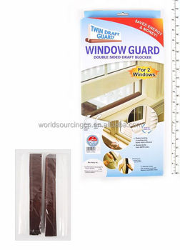 Window Draft Guard And Twin Draught Excluder As Seen On Tv