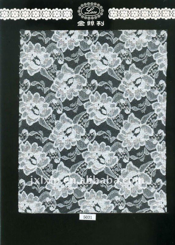 polyamides lace fabric