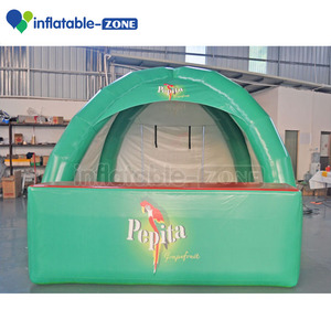 Inflatable bar counter tent for bar, leisurely life bar tent inflatable
