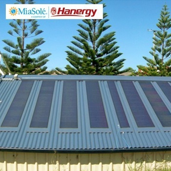 Hanergy 220w portable thin film pv solar panel home systems