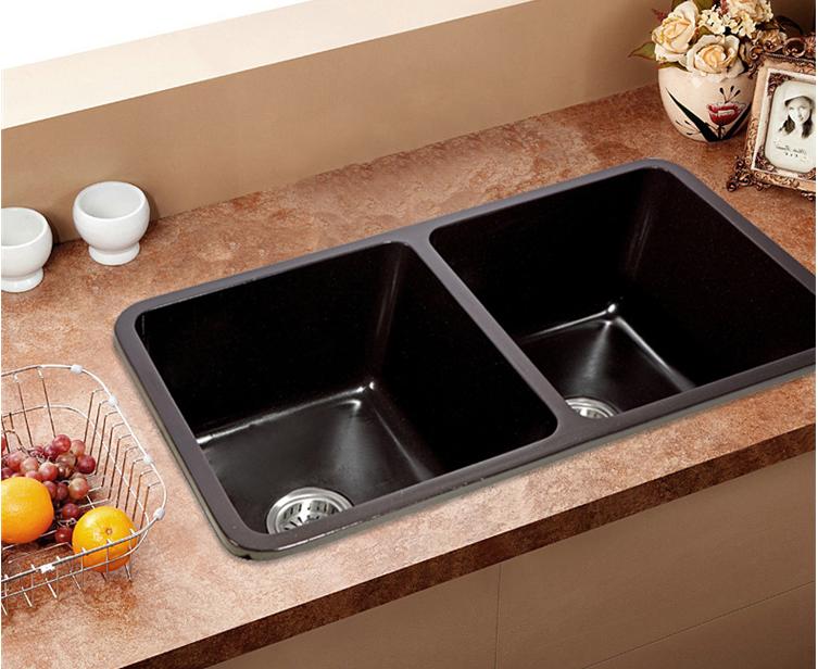 2016 Best Sale Cheap Quartz Stone Granite Kitchen Sink