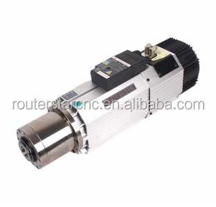high quality China Auto tool change electronic spindle 9kw for ATC cnc router