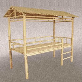 Bambus Im Freien Schlafcouch Mit Baldachin  Bambusmöbel(04032)