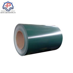 color bonded ppgi raw material steel coil mill