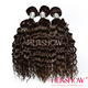 wholesale aliexpress hair hershow 5a brazilian hair weave deep wave remy hair extension