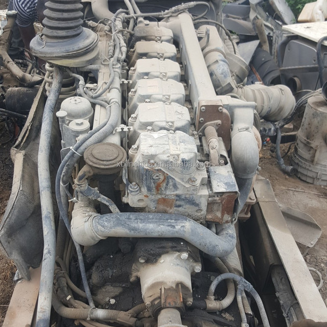 Used MAN truck engines